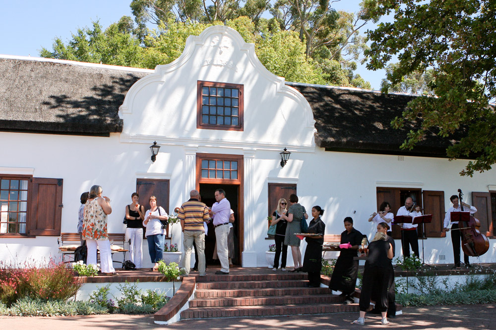 event at plaisir de merle in the franschhoek winelands