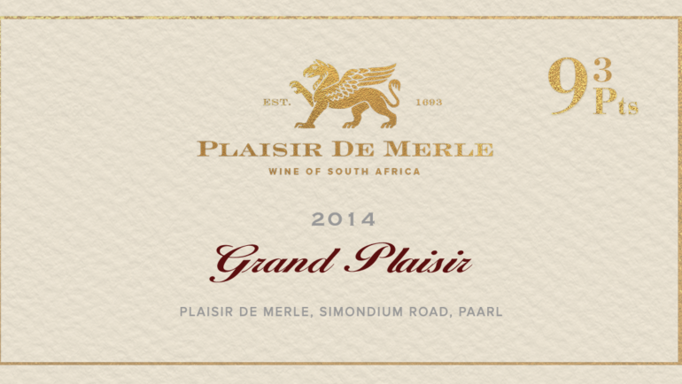 Plaisir de Merle rated gold by top judges